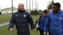 Formation: François Seguin s'occupe aussi des jeunes