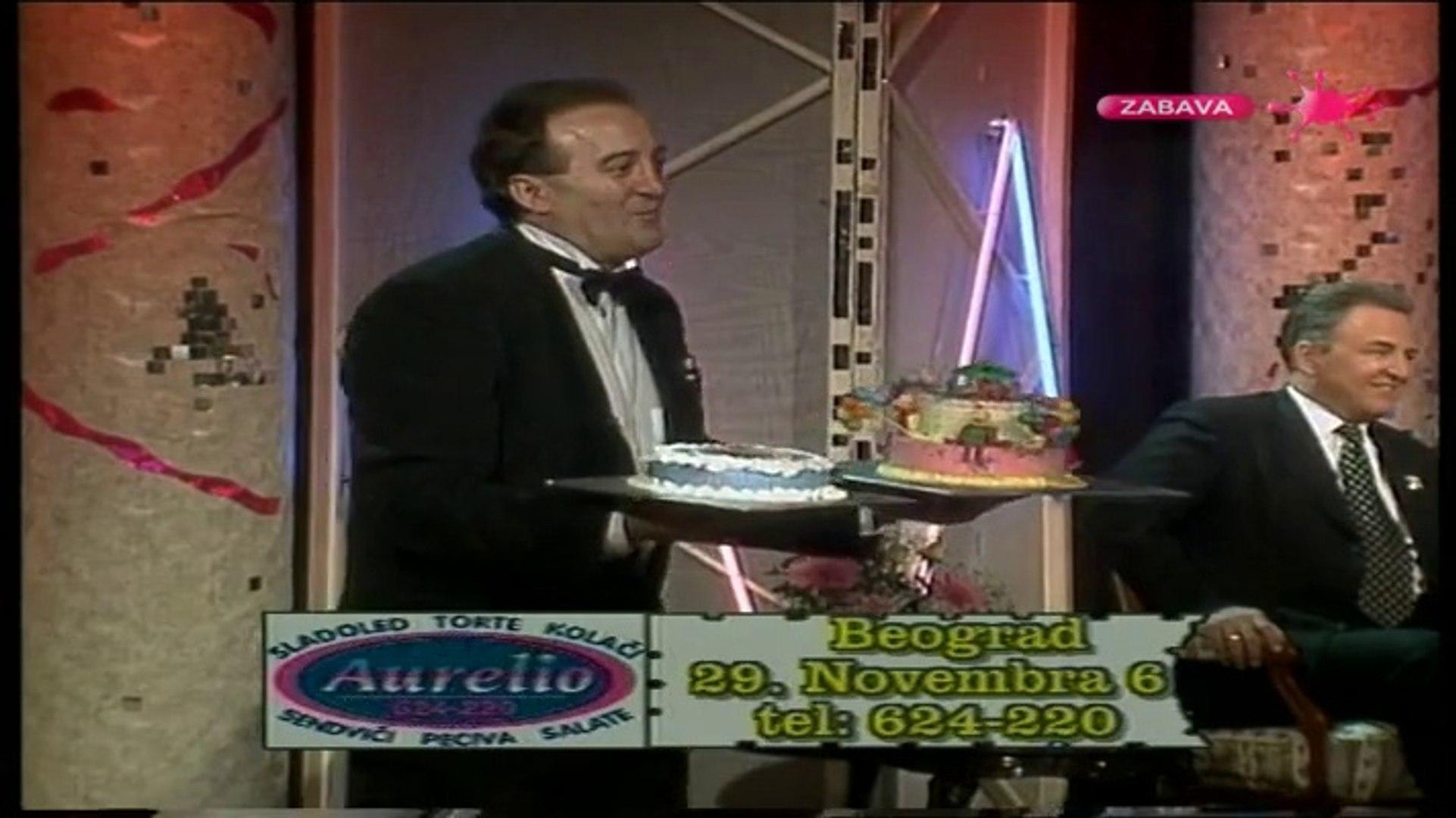 Maksovizija - Arkan, Ivana Zigon i Milic Vukasinovic 1999 (deo 2-2)