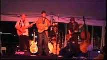 Adam Pope Band singing the Elvis song Polk Salad Annie at Elvis Week video