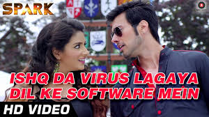 Ishq Da Virus Lagaya Dil Ke Software Mein Video Song (Spark) Full HD