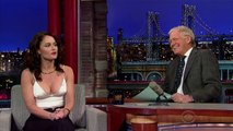 Robin Tunney on Late Show with David Letterman - Feb. 3/2015