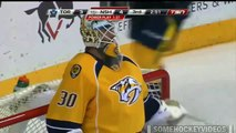 Moment magique en NHL : le gardien des Predators Carter Hutton sauve 2 tirs contre les Leafs