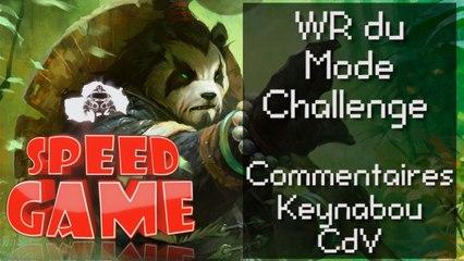 Speed Game: le mode Challenge de World of Warcraft