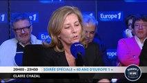 """Claire Chazal : """"je suis restée attachée à Europe 1"""""""