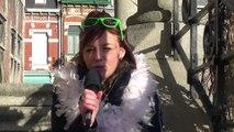 Marie Lombard, candidate à l'élection de la reine du carnaval de Bailleul