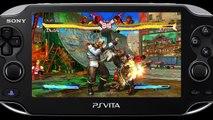 Trailer - Street Fighter X Tekken (Gameplay sur PS Vita)
