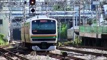 【FDH鉄道動画】JR東日本 E231系近郊形(1000番台)電車 Japan JR East E231-1000 series train