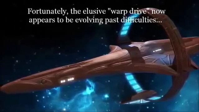 NASA Warp Drive Project - Faster than The Speed of Light