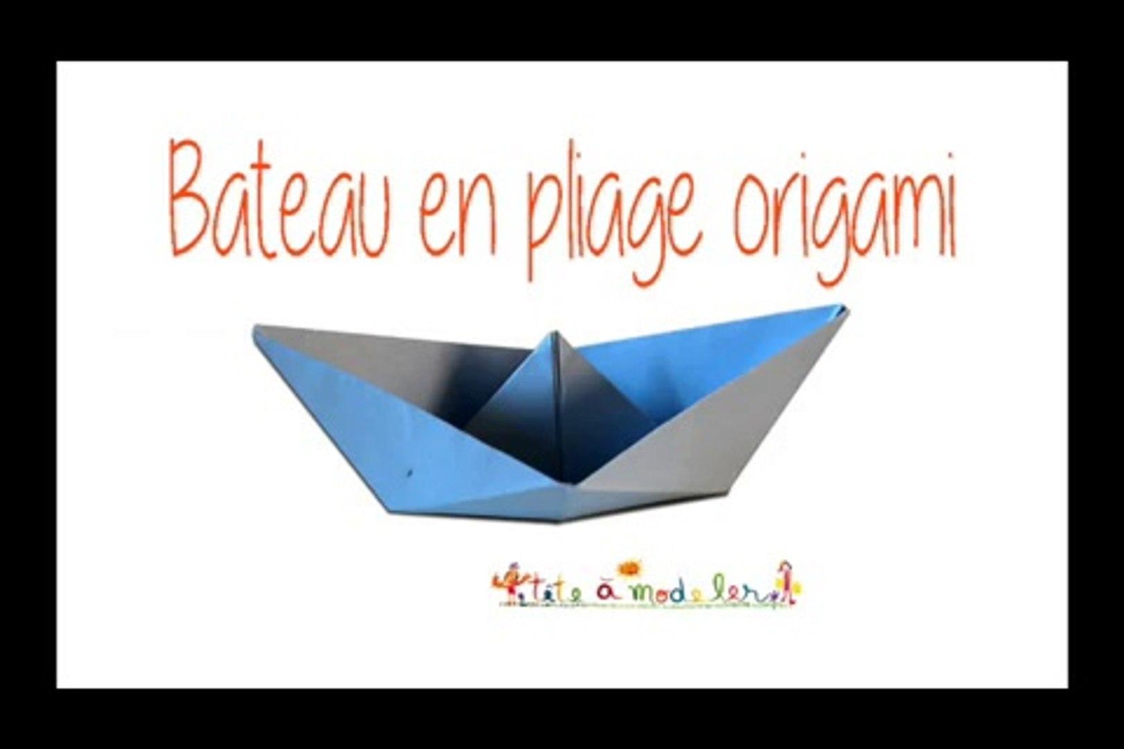 Bateau Origami Video Dailymotion
