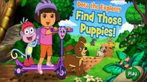 Dora's Find Those Puppies - Dora Game Movie - Dora The Explorer