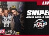 """Sniper """"Gravé dans la roche"""" en live dans Planète Rap"""