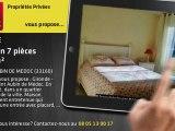 A vendre - maison - SAINT AUBIN DE MEDOC (33160) - 7 pièces - 180m²