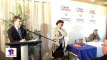 Galette des Rois Front National Boulogne-sur-Mer Présentation des Candidats aux élections départementales