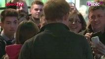 """Exclu Vidéo : Le Prince Harry assiste à la première du film """"Guillemot"""""""