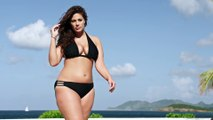 Plus-size model Ashley Graham in a so hot commercial for bikini : swimsuits for all!