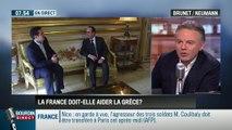 Brunet & Neumann : La France doit-elle aider la Grèce à alléger sa dette? – 05/02