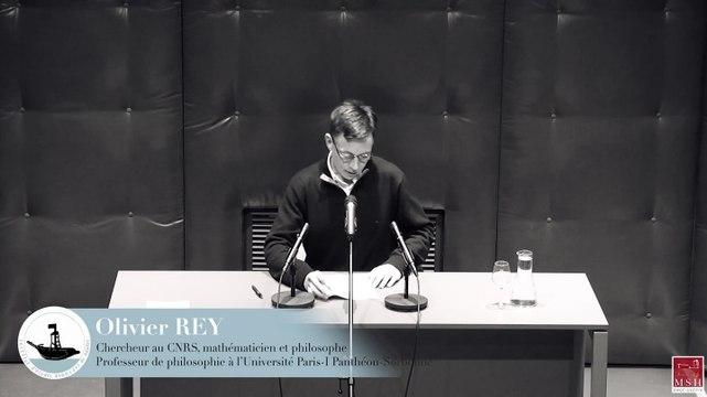 IEA de Nantes - Conférence d'Olivier REY