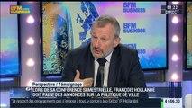 """Logement: """" Les entreprises participent au fait de casser les ghettos"""": François Pupponi – 05/02"""