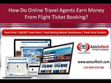 B2B Portal for Travel Agents, Air Ticket Portal Development Services, Travel Portal Consultancy