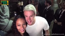 Channing Tatum takes photos with fans at 'Jimmy Kimmel Live!'