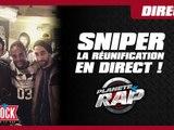Sniper : la réunification en direct dans Planète Rap !