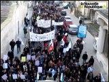 Poitiers : les enseignants dans la rue contre les suppressions de postes