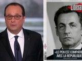 Hollande mouche Sarkozy... sans jamais le nommer