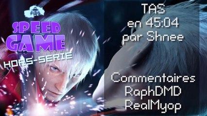 Speed Game Hors-série: TAS en 45:04 de Devil May Cry 3 Dante Must Die
