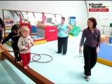 Châtellerault : initiation à la baby-gym au CSAD gymnastique