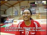 Celles-sur-belle handball : la saison blanche de la recrue ivoirienne Awa Karamoko