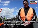 Manifestation des Motards en colère (FFMC ) à Poitiers