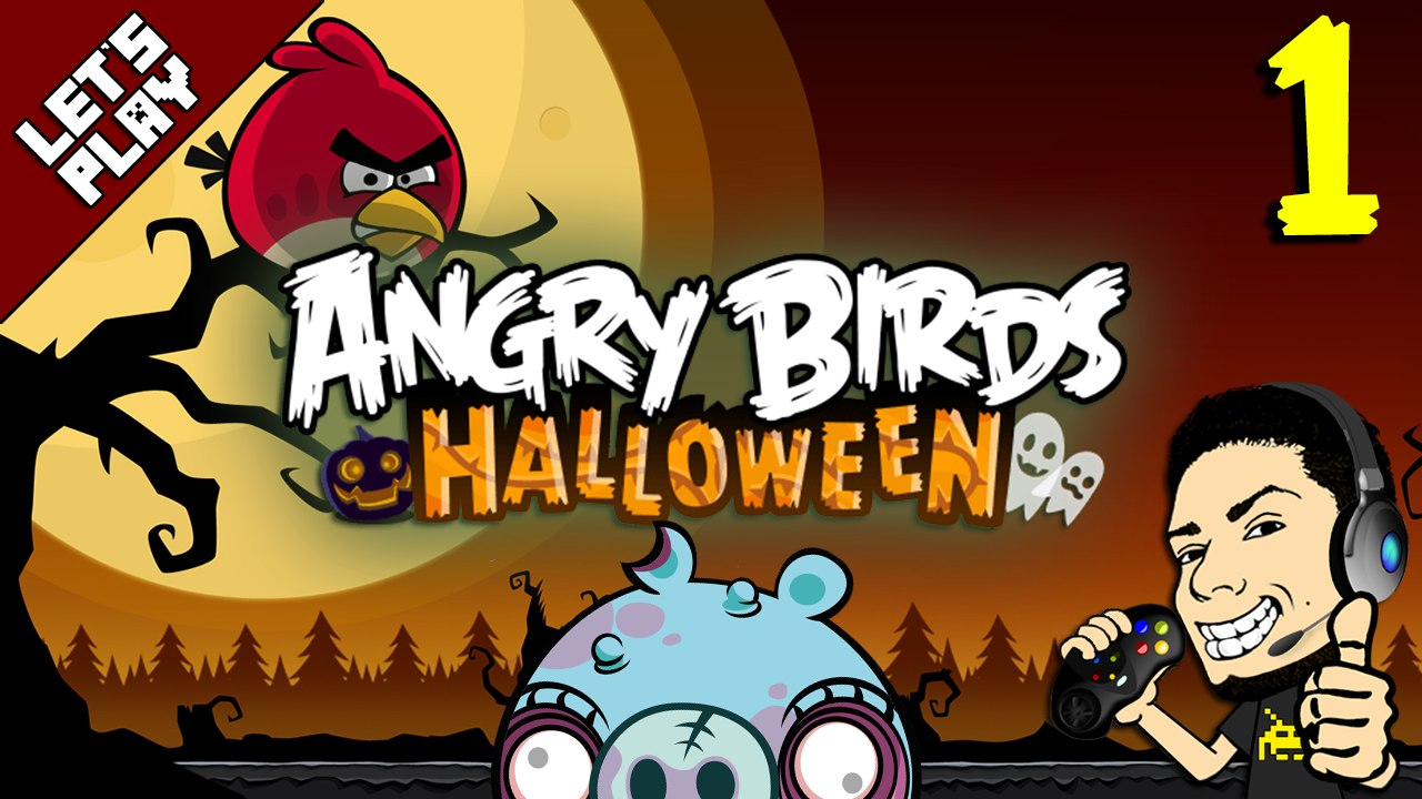 Let S Play Angry Birds Halloween Hd Episode 1 Gameplay Walkthrough Video Dailymotion