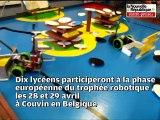 Châtellerault: les robots de Branly sont champions