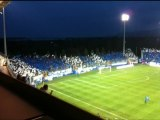Ambiance au stade Furiani pour le match Bastia - Berrichonne