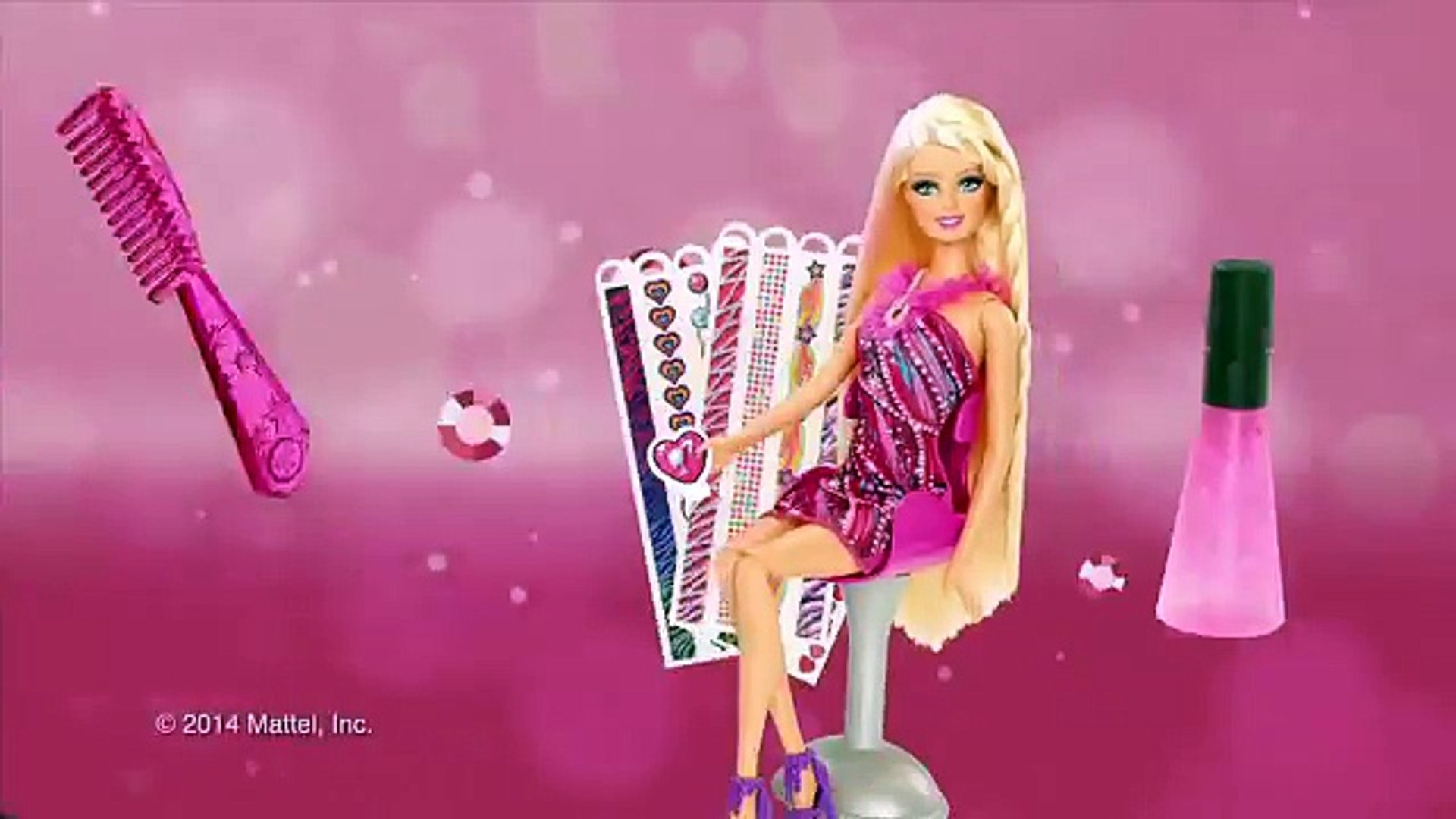 Barbie Tips – Barbie Diseña tu Cabello   Barbie
