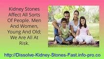 Symptoms Of Kidney Stones, Kidney Stones Treatment, Medicine For Kidney Stones, Left Kidney Pain