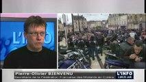 Les « Motards en colère » et la Sécurité routière (Sarthe)
