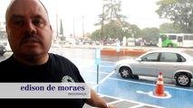 Chuva traz alívio e transtorno a motoristas em Campinas