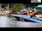 VIDEO. Ski nautique de vitesse : la glisse des dragsters