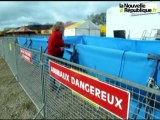 VIDEO.Tours : Séance photo des éléphants et des otaries du cirque Pinder