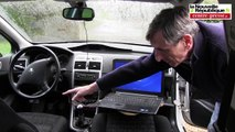 VIDEO. Un Poitevin invente une voiture sans conducteur.