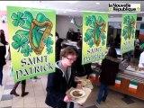 VIDEO. Poitiers. Le restaurant universitaire fête la Saint Patrick