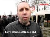 VIDEO. Châtellerault: grève pour les salaires à la Fonderie Fonte