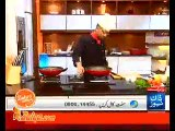 Chicken Noodles With Vegetables Sauce & Chicken Tree by Chef Zakir