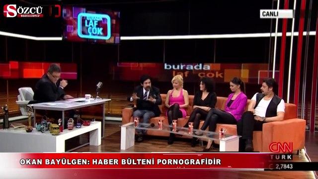 Okan Bayülgen: Haber bülteni pornografidir