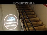 Logo Yansıt ic ortam sabit logo uygulama videsu hastay makina merdiven altı logo yansıt