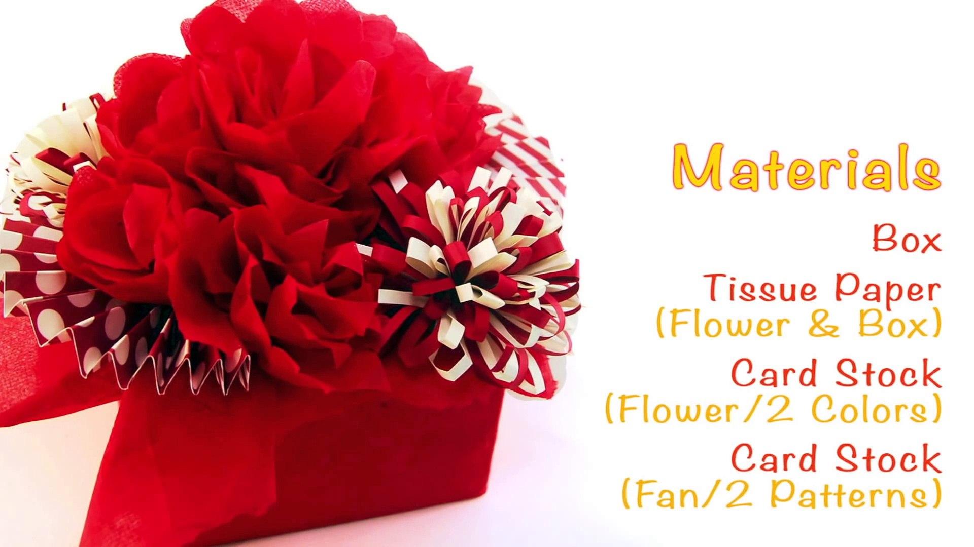How To Make a Flower Vase at Home ¦ Making Paper Flower Vase ¦ DIY ... | 1080x1920