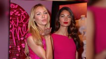 Victoria's Secret's Candice Swanepoel and Lily Aldridge Give Cupid A Hand