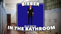 Justin Bieber hooking up with Ellen DeGeneres?! Biebs and Ellen prank unsuspecting fans in a toilet!