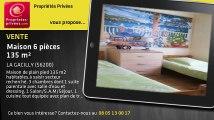 A vendre - maison - LA GACILLY (56200) - 6 pièces - 135m²